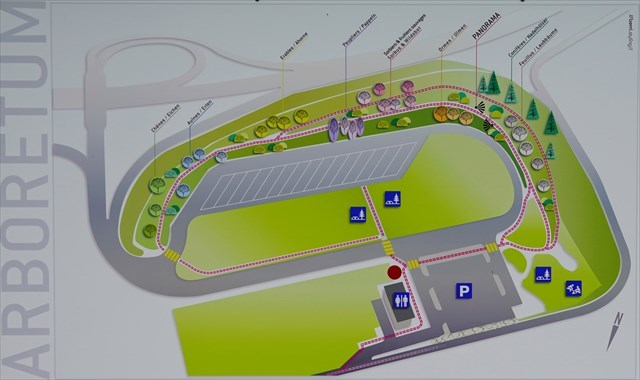 Arboretum plan du site
