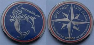 Sail Fast Geocoin Dolphin