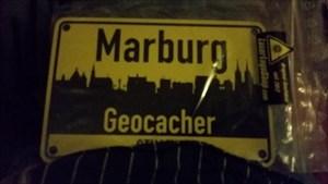 TB: DreiTreiser MARBURG Schild