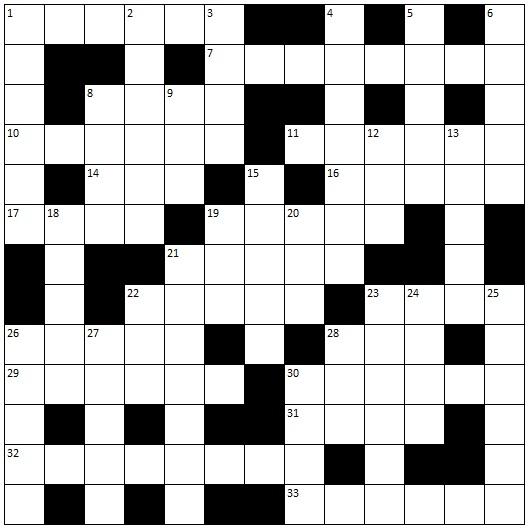 Big G Crossword