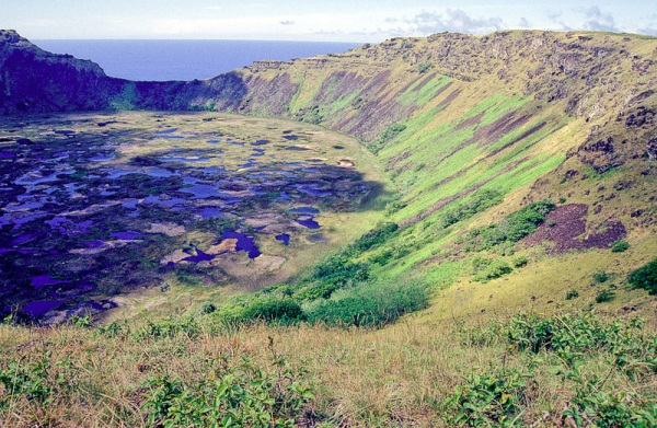 Another view of Rano Kau. Photo by geocacher Kulturmensch