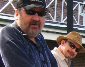 Alf (left), Harry (right) in Port Jefferson, NY