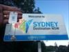 bye Sydney. travelling North.