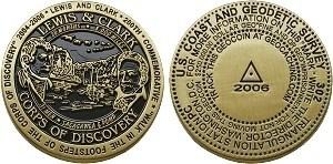 Lewis & Clark Geocoin