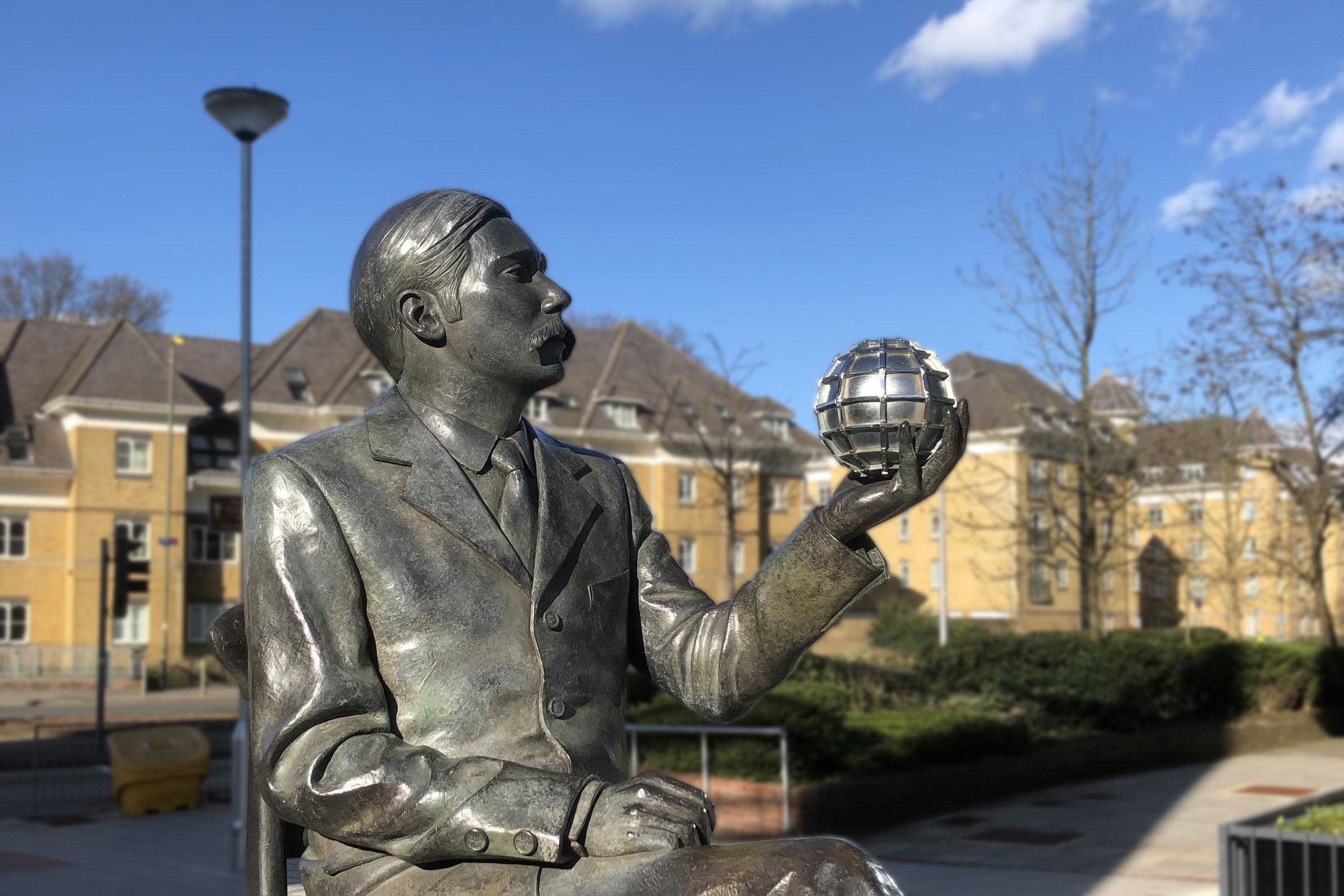 3. H. G. Wells Statue
