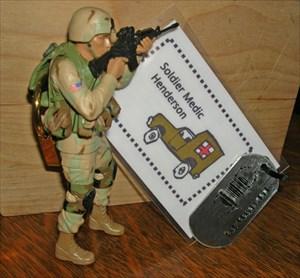 Soldier Medic Henderson
