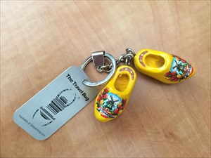 The Dutch Wooden Shoes Key Chain