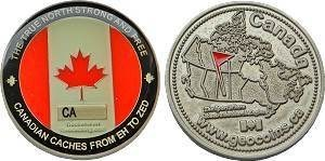First Canadian Geocoin