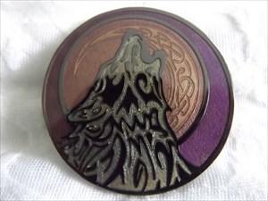Celtic Wolf - Full Sturgeon Moon