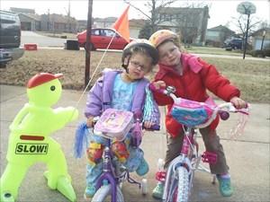 Kids need helmets too!