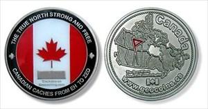 Canadian Geocoin 2006 Edition