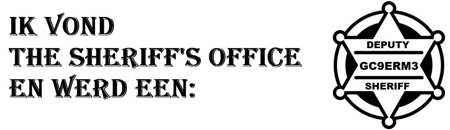 Ik ben een deputy
