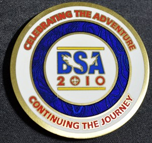 BSA 100th Anniversary Geocoin