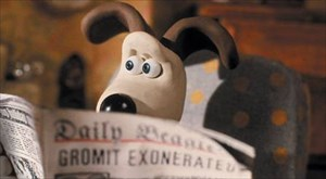 Gromit with papper.jpg