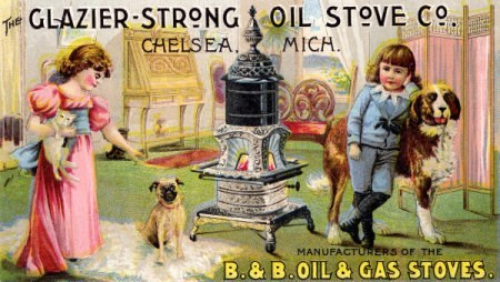 Glazier-Strong Oil Stove Co. postcard