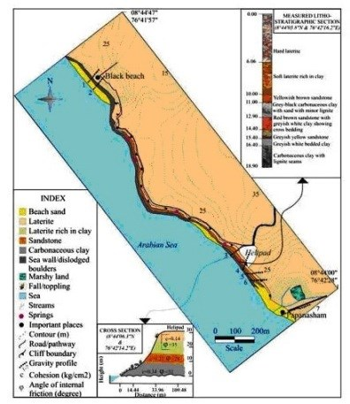 Gc5ey1g Varkala Formation Earthcache In India Created By Exploradora73