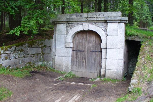 Dolní portál tunelu