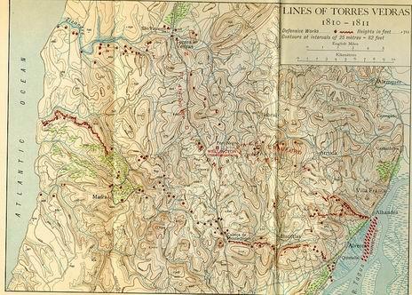 Mapa dos Fortes