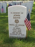 Image for Recipient of Medal of Honor - John Davis, Private - Denver, CO