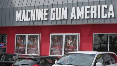 Machine Gun - Neon - Kissimmee, FL.