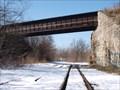 Image for Former Erie RR over former B&O RR - Akron, Ohio