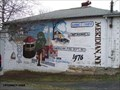 Image for Old Meridian Fire Station Mural- Meridian, New York