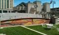 Image for Gallivan Utah Center Utah Sandscape Mural - Salt Lake City, Utah