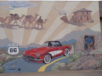 Route 66 Corvette - Hackberry