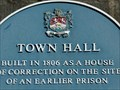 Image for Cowbridge Town Hall - Blue Plaque - Vale of Glamorgan, Wales.
