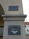 Image for Sister City Monument Hirschau - Kingersheim, Hirschau, BW