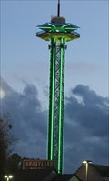 Image for Space Needle - Satellite Oddity - Gatlinburg, Tennessee, USA.