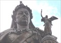 Image for Queen Victoria with Victory (Victoria) and Asteroid 12 Victoria – Bradford, UK