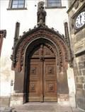 Image for Old town hall doors, Prague, CZ