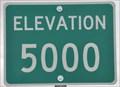 Image for US Highway 89 ~ Elevation 5000 Feet