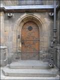 Image for Zadni devre chramu sv. Vita / Back door of St. Vittus cathedral, Praha, CZ