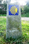 Image for Way marker Cape Finisterra - Finisterra, spain