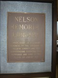 Image for Nelson Memorial Library - Lovingston, VA