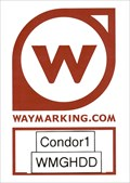Image for The Waymark Sticker of Condor1