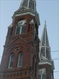 Image for St. Joseph's Catholic Church Town Clocks - Topeka, KS