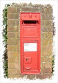 Image for Victorian Post Box - Cheeseman Close, Minster, Kent.