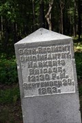 Image for 64th Ohio Infantry Regiment Marker - Chickamauga National Military Park