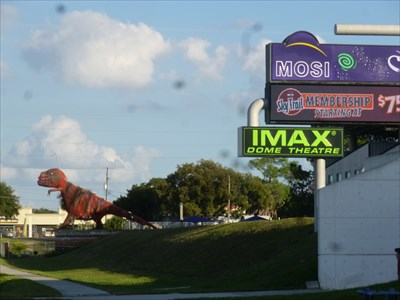 Lord Abercrombie visited MOSI - IMAX DOME Theatre - Tampa, Florida, USA.