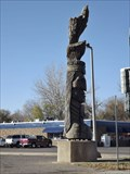 Image for Wooden Indian Head - Mandan ND