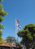 Image for Flag at City Library - Pacific Grove, California