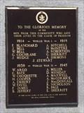 Image for Oakville Cemetery War Memorial - Oakville MB
