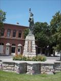 Image for Leavenworth City Hall Statue of Liberty - Leavenworth, Ks.