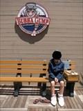 Image for Bubba Gump Shrimp Co Bench - Pier 39, San Fransisco, CA