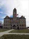 Image for KG0637 Osborne Co. Courthouse Clock Tower --Osborne KS