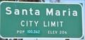 Image for Santa Paula, California ~ Elevation 206 Feet
