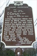 Image for Lorine Niedecker Historical Marker